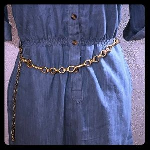 Gold Chain Link Belt